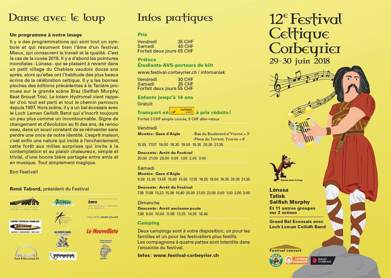 Festival celtique Corbeyrier
