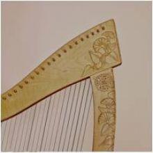Autour de la harpe celtique